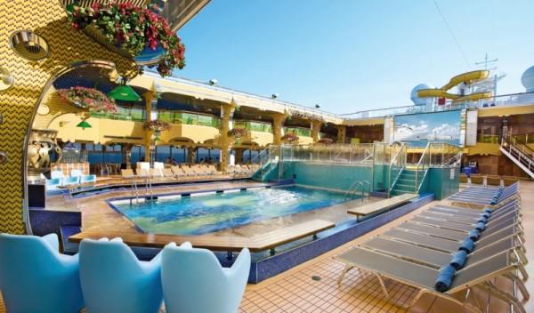 Croisi res costa magica alizes travel voyages - Costa luminosa piscine ...