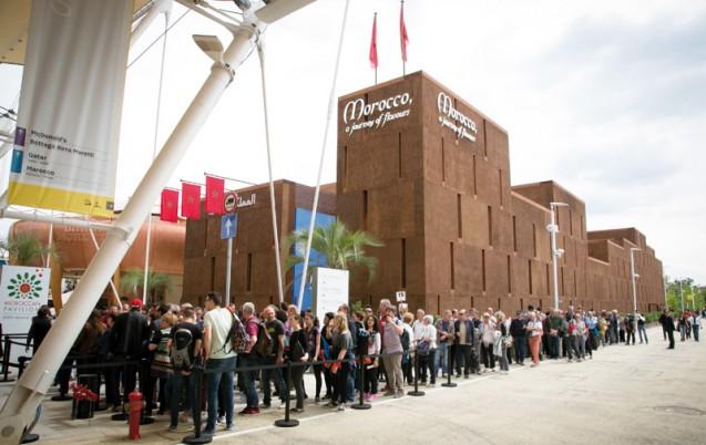 Expo Milan Les Stands : Expo milan le maroc dans top des pavillons les