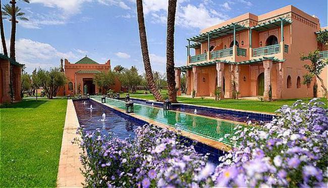 Report on tourist places in marrakech morocco - Jardin marocain terrasse ...