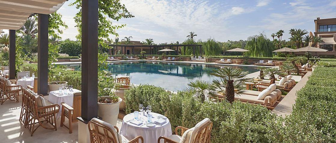 le mandarin oriental de marrakech lu meilleur h tel de luxe au monde alizes travel voyages. Black Bedroom Furniture Sets. Home Design Ideas